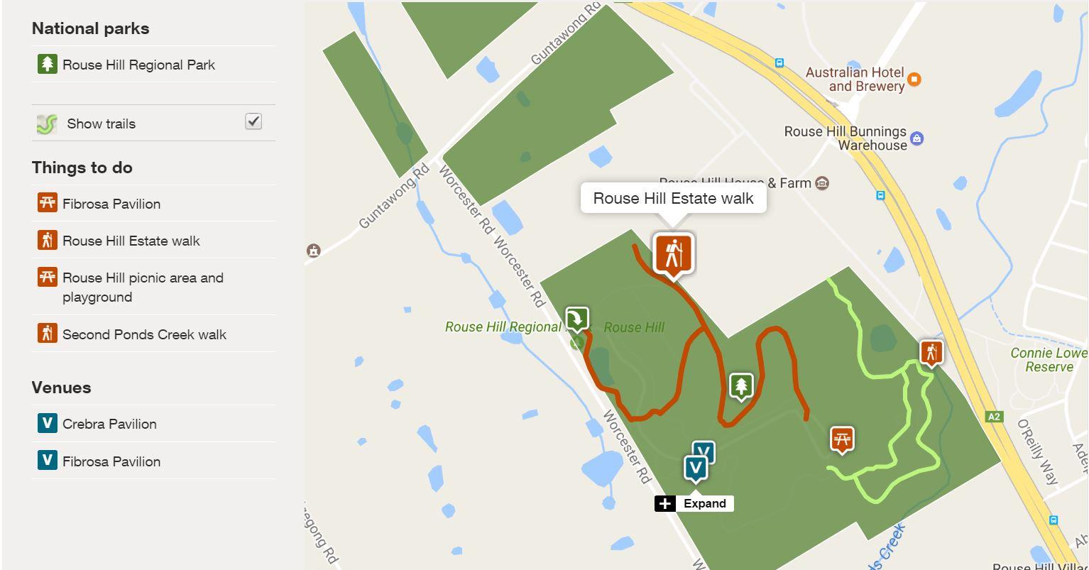 Rouse Hill Estate Walk